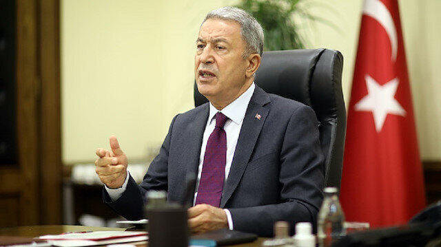 Turkish National Defense Minister Hulusi Akar