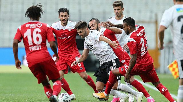 Beşiktaş <br>sonunu getiremedi
