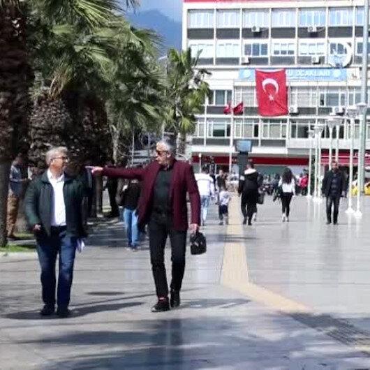 Aydın'da karantinaya uymayarak kural ihlali yapan 5 kişi KYK yurduna yerleştirildi