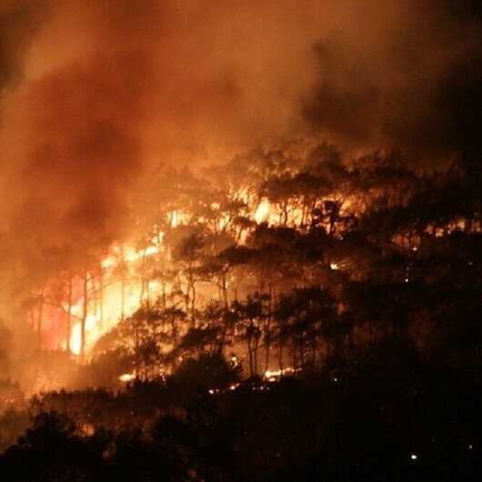 Balıkesir'deki orman yangını kontrol altına alındı. Soğutma çalışmalarına başlandı.