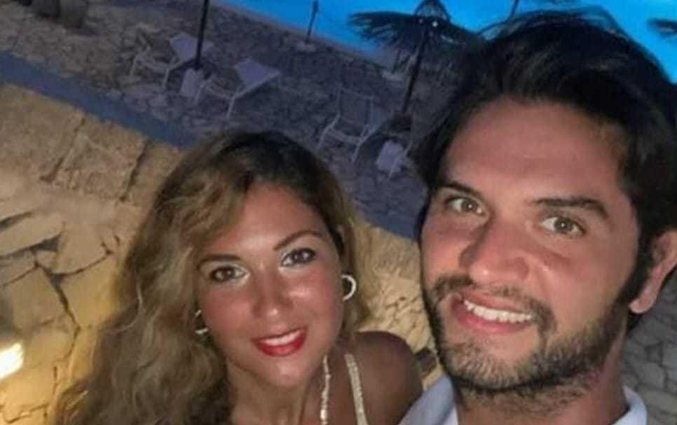 De Santis ve nişanlısı Manta