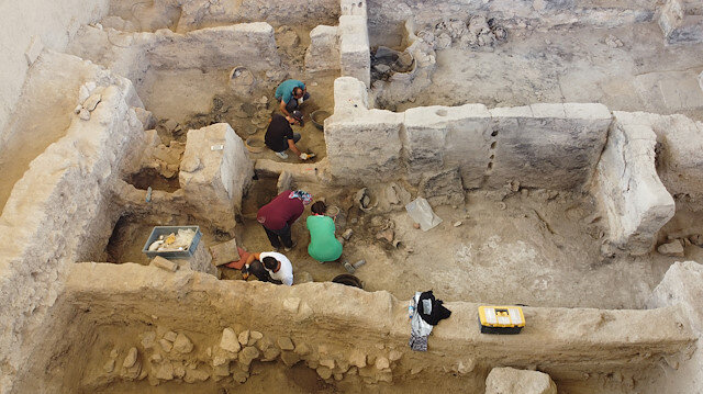 Archeologists unearth 4,000-year-old textile mill unearthed western Turkey
