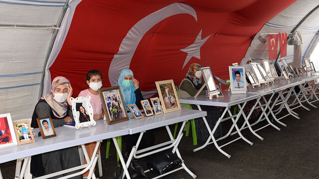 Families continue sit-in against PKK on day 387 in SE Turkey