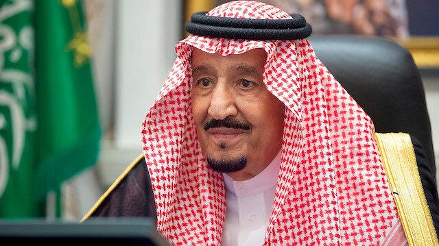 Saudi Arabia's King Salman bin Abdulaziz attends a virtual cabinet meeting in Neom, Saudi Arabia August 18, 2020. Picture taken August 18, 2020. Saudi Press Agency/Handout via REUTERS