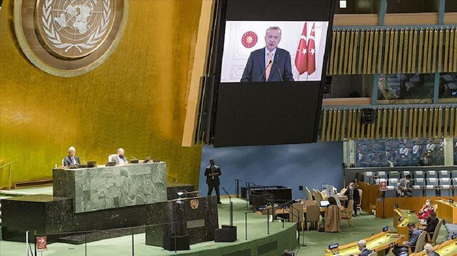 Israeli envoy leaves UNGA over Erdogan's criticism