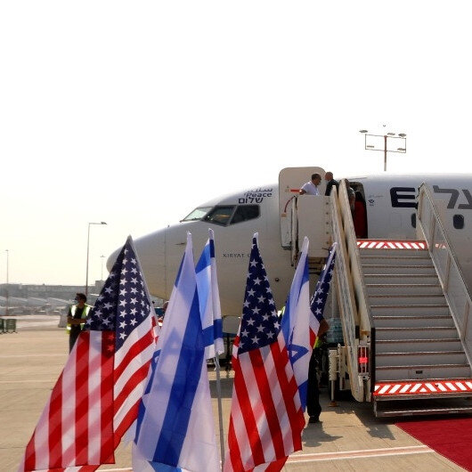 Israel operates flight to Bahrain over Saudi airspace
