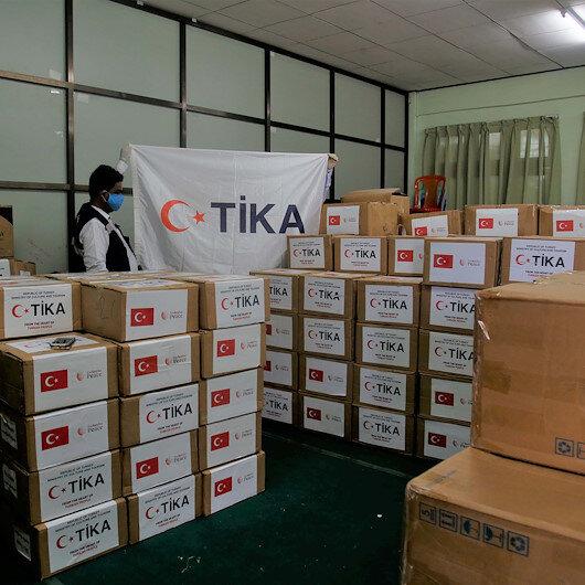 """""""تيكا"""" التركية تقدم مساعدات طبية لمسلمي أراكان"""
