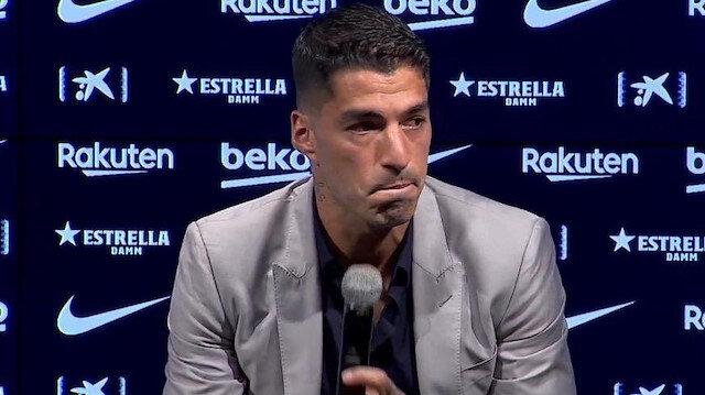 Luis Suarez'in duygusal vedası: Boğazı düğümlendi, konuşamadı