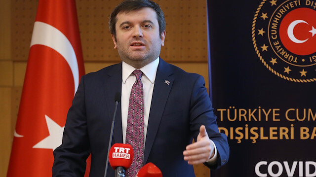 Turkish Deputy Foreign Minister Yavuz Selim Kiran