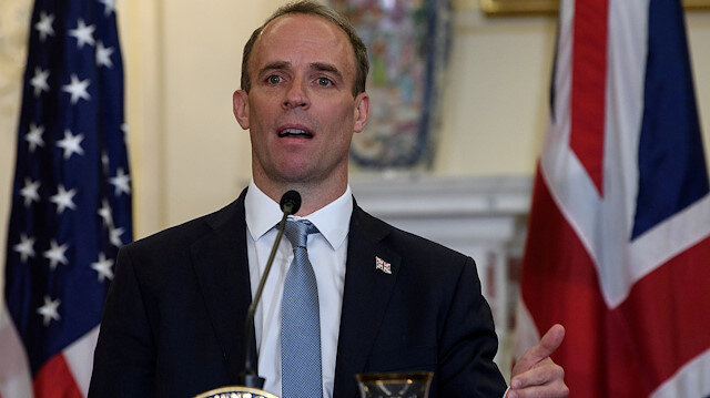 Britain's Foreign Affairs Secretary Dominic Raab
