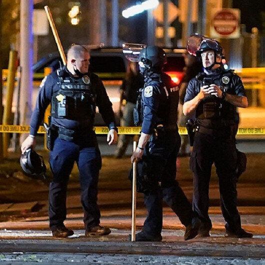 إصابة شرطي أمريكي بإطلاق نار خلال احتجاجات بولاية كنتاكي