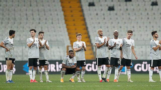 Beşiktaş <br>penaltılarla veda etti