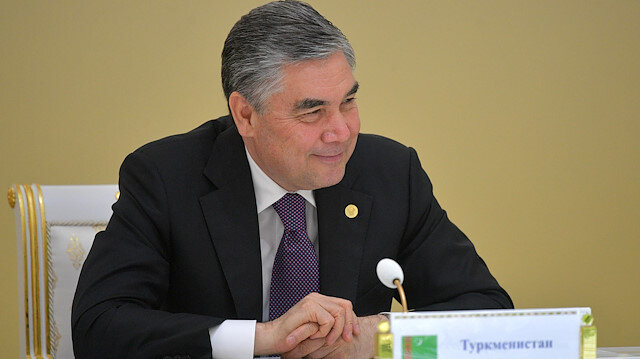 Turkmen President Gurbanguly Berdimuhamedov attends a meeting of heads of the Commonwealth of Independent States (CIS) in Ashgabat, Turkmenistan October 11, 2019. Sputnik/Alexei Druzhinin/Kremlin via REUTERS