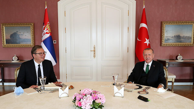 Erdogan holds closed-door meeting with Serbian counterpart in Istanbul