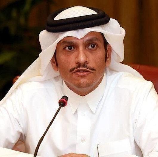 وزير خارجية قطر يجدد موقف بلاده الداعي لتسوية عادلة للقضية الفلسيطنية