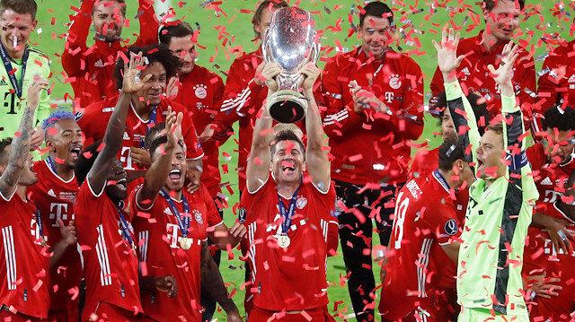 Süper Kupa <br>Bayern'in