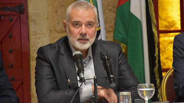 Chairman of Hamas Political Bureau Ismail Haniyeh