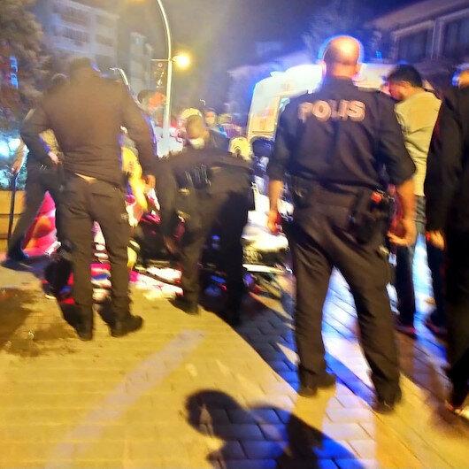 Yumruk ve bıçaklarla polis ekiplerine saldırdılar: 5 kişi yaralandı