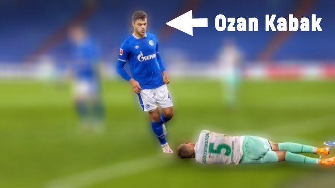 Ozan Kabak'ın rakibine tükürdüğü kararına varılırsa Bundesliga yönetiminden ciddi bir ceza alabileceği söyleniyor.