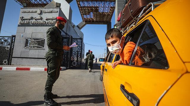 Rafah border crossing between Gaza and Egypt