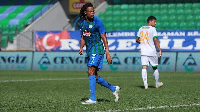 Rizespor'un yıldızı Remy, Süper Lig'deki ilk golünü attı.