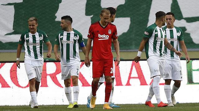 Beşiktaş dağıldı