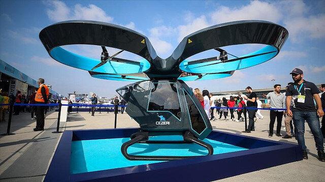 """""""جزري"""".. نموذج سيارات طائرة تركية بذكاء اصطناعي"""