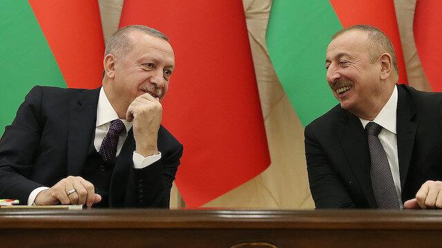 President of Turkey, Recep Tayyip Erdogan in Azerbaijan