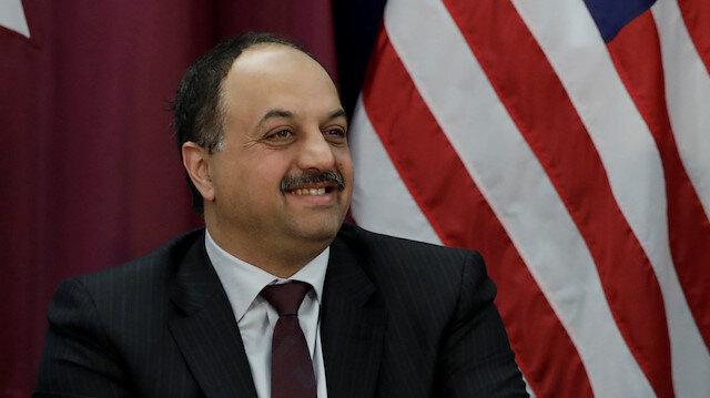 Qatari Defense Minister Khalid bin Muhammad Al-Attiyah