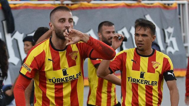 Alpaslan Öztürk, bu sezon ilk 3 maçta forma giydi ve 1 gol kaydetti.
