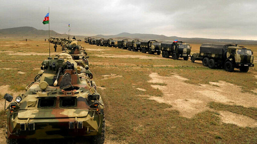 Azerbaycan ordusunda çok sayıda Türk savunma aracı ve silahı yer alıyor.