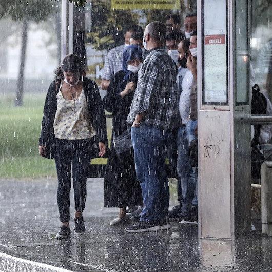 Meteoroloji son hava durumu tahminlerini açıkladı: 26 ile yağış uyarısı yapıldı