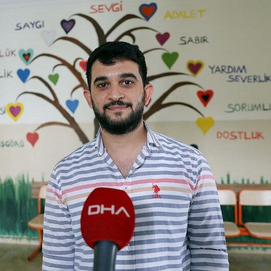 Gaziantep'te genç öğretmen düğünde takılan takısını satıp öğrencisine televizyon aldı