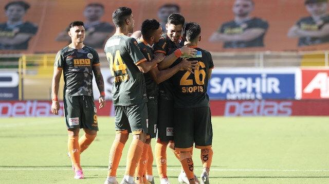 Alanyaspor'dan Hatayspor'a yarım düzine gol