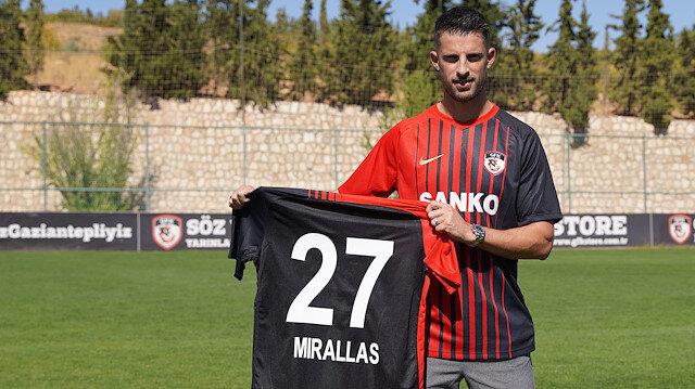 Gaziantep FK Kevin Mirallas'ı transfer etti