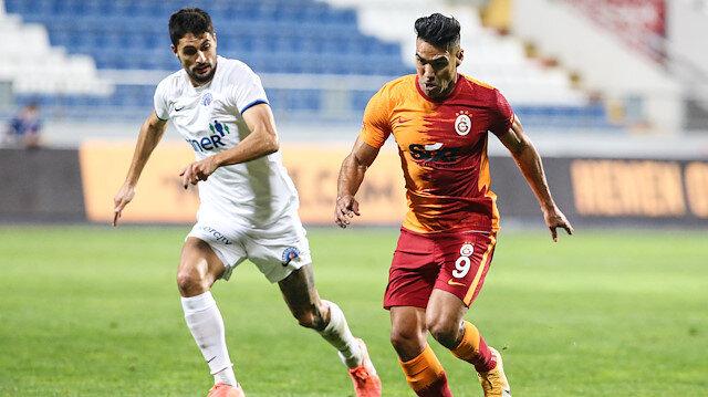 Galatasaray'da Falcao'ya olay tepki: Bari bir işe yara!