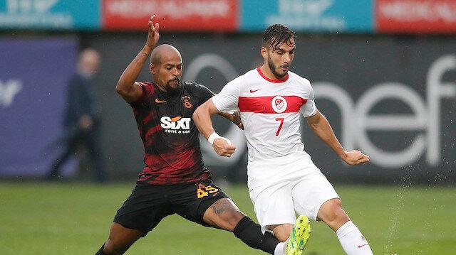 Galatasaraylı Marcao'dan, milli futbolcu Halil Dervişoğlu'na tokat iddiası