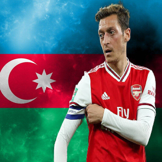 Arsenal's Ozil voices support for Azerbaijan in Karabakh dispute