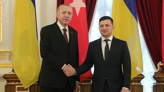 File photo: Turkish President Recep Tayyip  - Volodymyr Zelensky