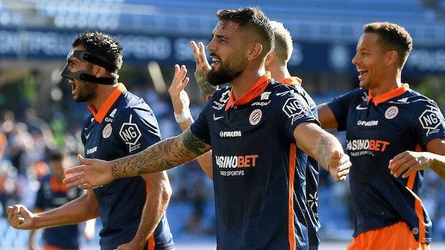 Montpellier ligde 5. sırada yer alıyor.