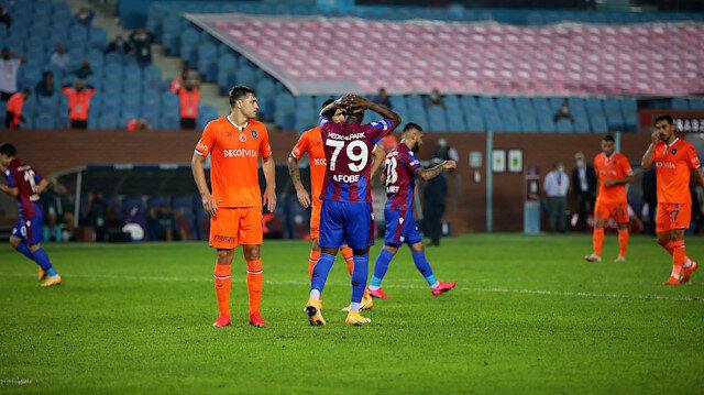 Trabzon'da kazanan<br>Başakşehir