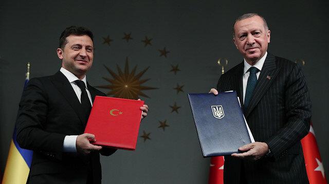 Recep Tayyip Erdogan - Volodymyr Zelensky meeting in Istanbul