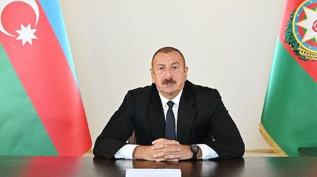 الرئيس الأذربيجاني يعلن تحرير كامل مدينة فضولي