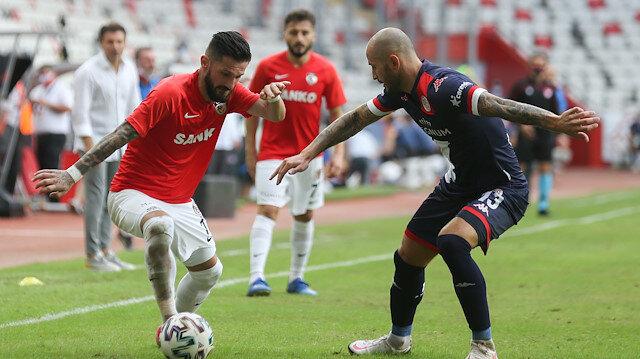 Antalya'da çılgın maç