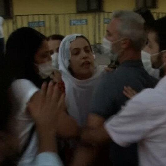 Evlat nöbetindeki ailelere hakaret eden HDP'li Remziye Tosun hakkında soruşturma başlatıldı