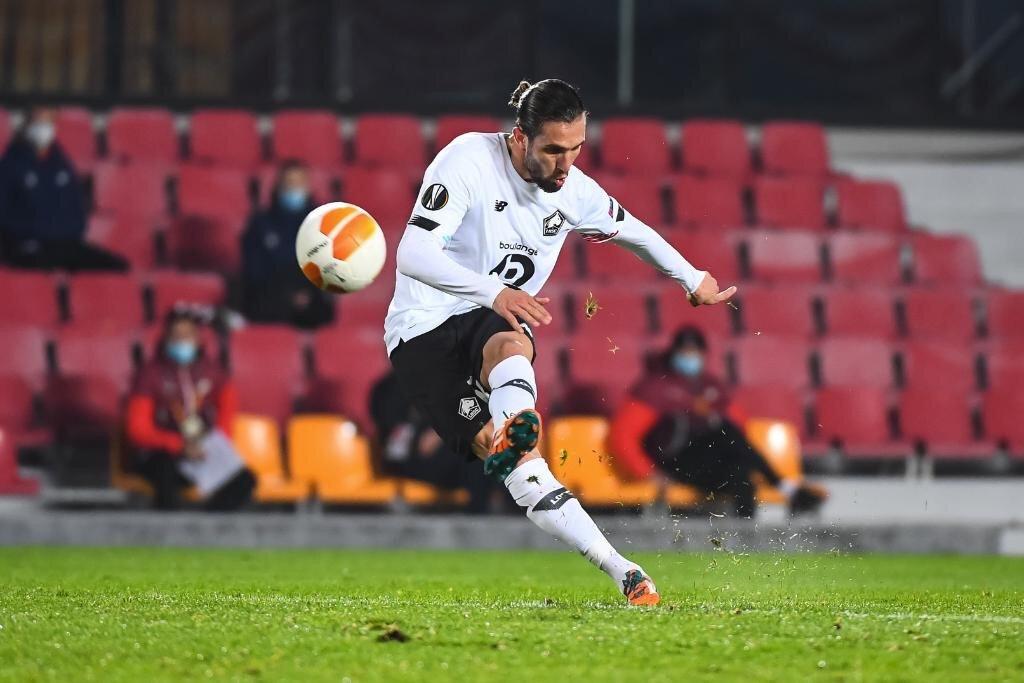 Yusuf Yazıcı, Lille formasıyla çıktığı son 2 maçta 2 gol attı.