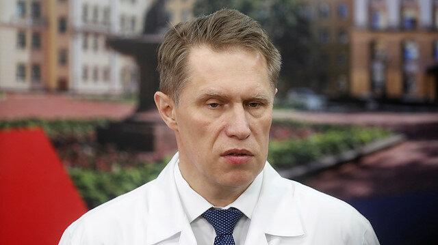 Russian Minister of Health Mikhail Murashko