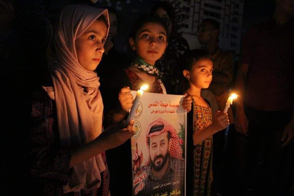 Ahres, İsrail askerlerince Batı Şeria'nın Cenin kentindeki evinden 27 Temmuz'da gözaltına alınan.