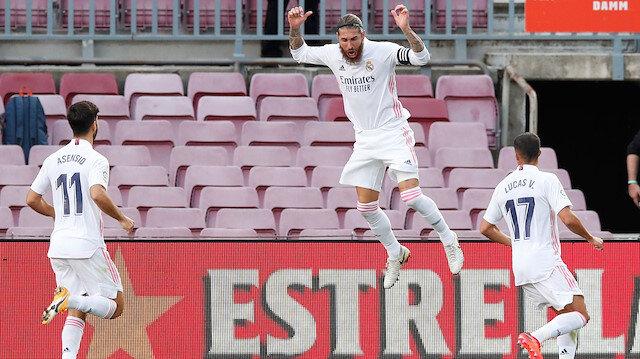 El Clasico'da <br>Real Madrid rüzgarı