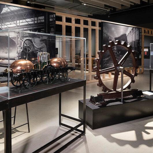 Türkiye'den üç nadir lokomotif modeli Londra Bilim Müzesi'nde